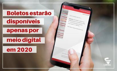Anuidade 2020  - Boletos estarão disponíveis apenas por meio digital